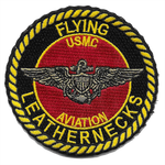 USMC Aviation Flying Leathernecks Shoulder Patch