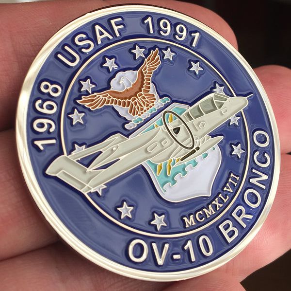 USAF OV-10 Commemorative Coin