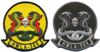 HMLA-369 Gunfighters Regular Squadron patch
