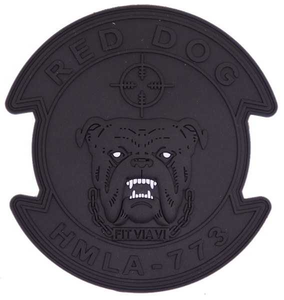 HMLA-773 Red Dog PVC Patches