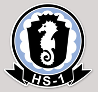 HS-1 Seahorses Sticker