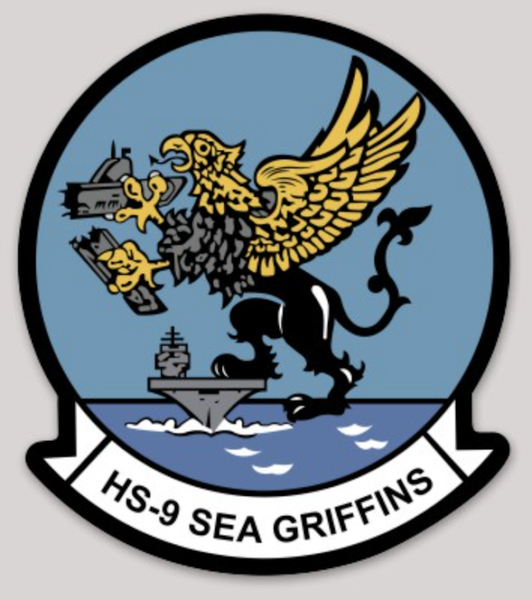 HS-9 Sea Griffins sticker
