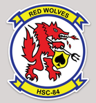 HSC-85 Red Wolves stickers