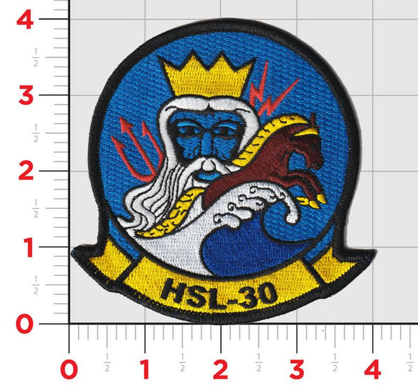 Official US Navy Helicopter Squadron HSL-30 Neptune's Horsemen