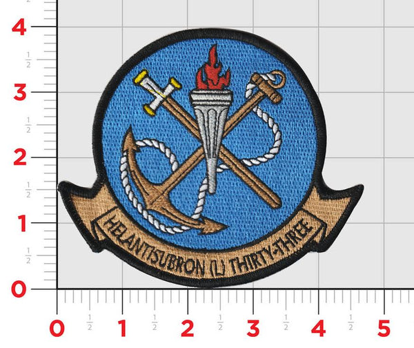 Official US Navy Helicopter Squadron HSL-33 Seasnakes