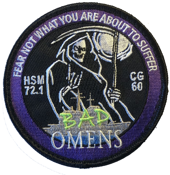 HSM-72.1 Bad Omens Shoulder Patch