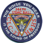 H&HS Beaufort 244th Ball Patches