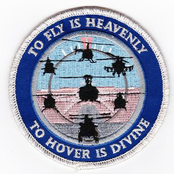 Helicopter Pilot Tribute Patch