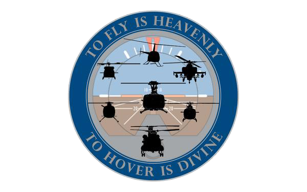 Helicopter Pilot Tribute Sticker