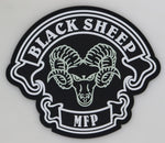 USMC MFP Black Sheep PVC, GITD with hook and loop