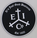 East India Trading Company Maritime Security PVC Patch Combo- with Hook and Loop