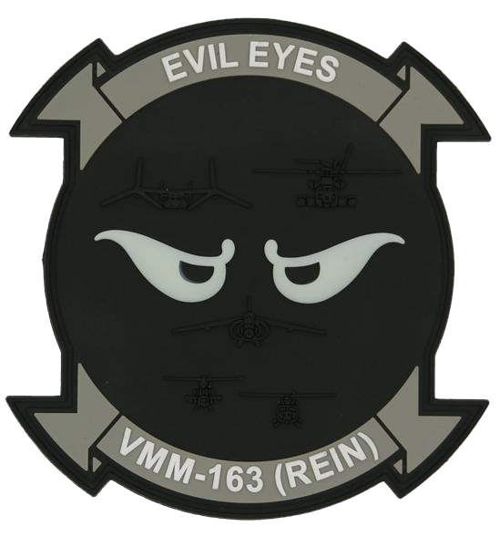 VMM-163 (REIN) Evil Eyes PVC- With Velcro