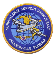 Legacy US Customs, Jacksonville P3 Air Branch- No Velcro