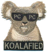 Koalafied Qualification Patches- With Hook and Loop