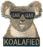 Koalafied Qualification Patches- With Velcro
