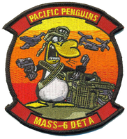 MASS-6 DET A Pacific Penguins Full Color- With Velcro