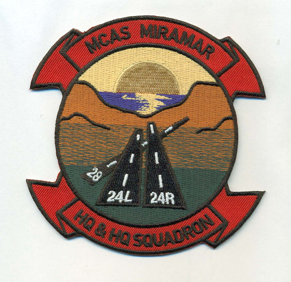 MCAS Miramar HQ & HQ Squadron- No hook and loop