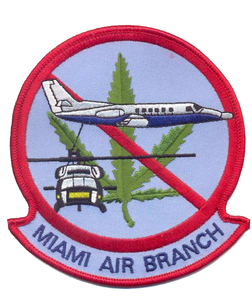 Legacy US Customs, Miami Air Branch- No Hook and Loop