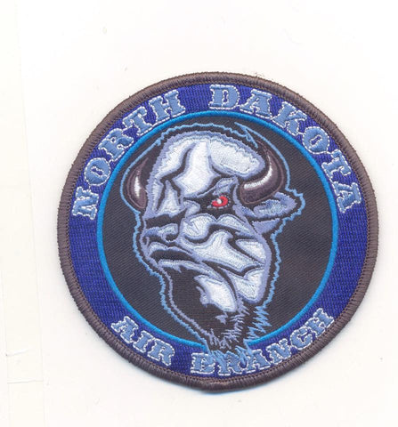North Dakota Air Branch Patch- With Velcro