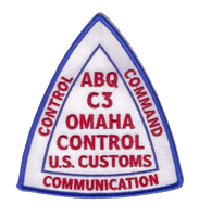 Legacy US Customs, Omaha Control- No Velcro