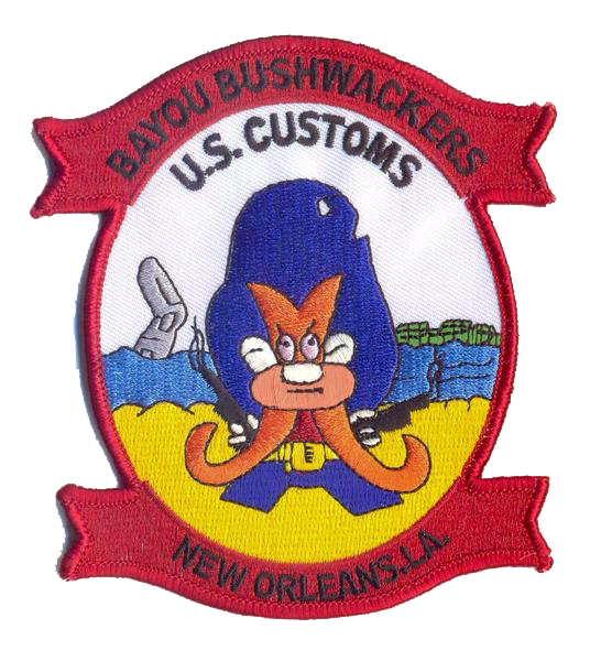Legacy US Customs, New Orleans Air Branch- No Velcro