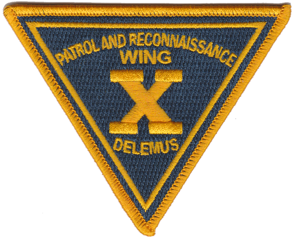 US Navy Official PATRECONWING 10 Patch
