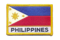 Philippine Air Force Flag with Velcro
