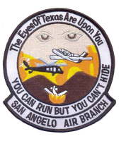 Legacy US Customs, San Angelo Air Branch - No Hook and Loop