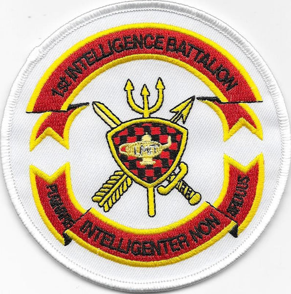 1st Intelligence Bn-No Velcro