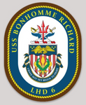 USS Bonhomme Richard LHD-6 Sticker