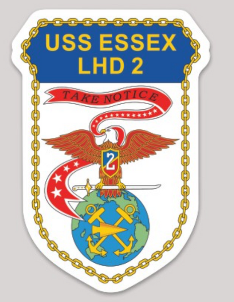 USS Essex LHD-2 Sticker
