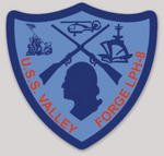 USS Valley Forge LPH-8 Sticker