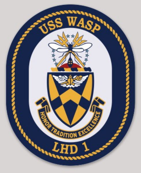 USS Wasp LHD-1 Sticker