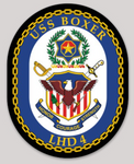 USS Boxer LHD-4 Sticker