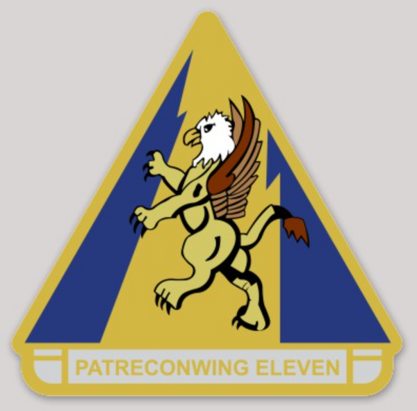 US Navy Official Patrol Wing 11 (Current) Sticker