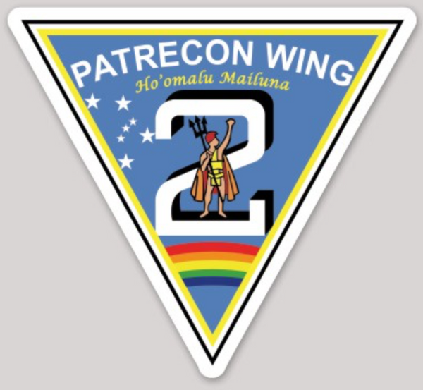 US Navy Official Patrol Recon Wing 2 Sticker