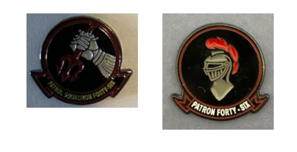 VP-46 Grey Knights Pin