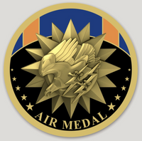 Air Medal Sticker
