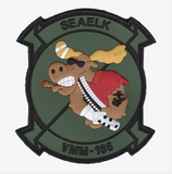 VMM-166 Party Moose Squadron Patch