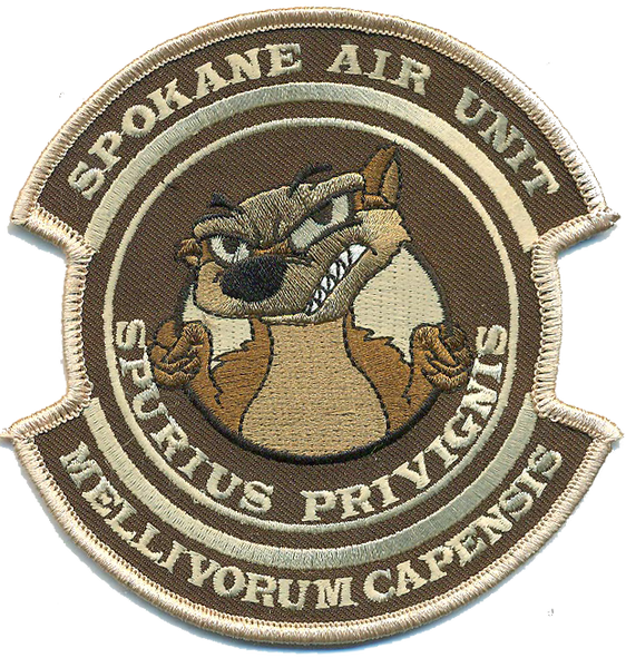 USCBP Spokane Air Unit Honey Badgers- No Hook and Loop