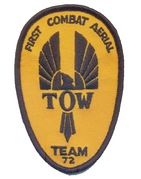 TOW 1972 Patch Full Color- No Hook and Loop