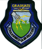 USAF School of Advance Air and Space Studies Graduat Patch- With hook and loop