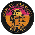 USCG San Diego Endless Summer- With Velcro