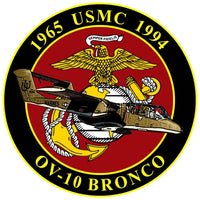 USMC OV-10 Bronco Commemorative Sticker