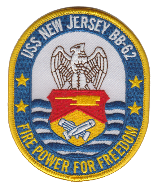 USS New Jersey- BB-62- No Velcro