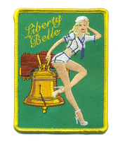 US Navy VAW-115 Liberty Belle Sailor Girl- With Velcro
