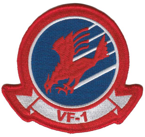 VF-1 Top Gun Patch- No Hook & Loop
