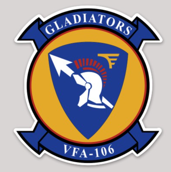 VFA-106 Gladiators Sticker