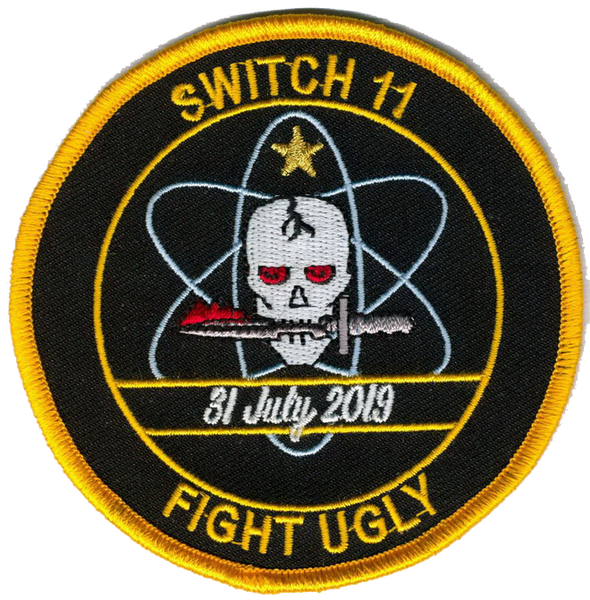 "VFA-151 Vigilantes ""JTACz"" Memorial Patch- With Hook and Loop"