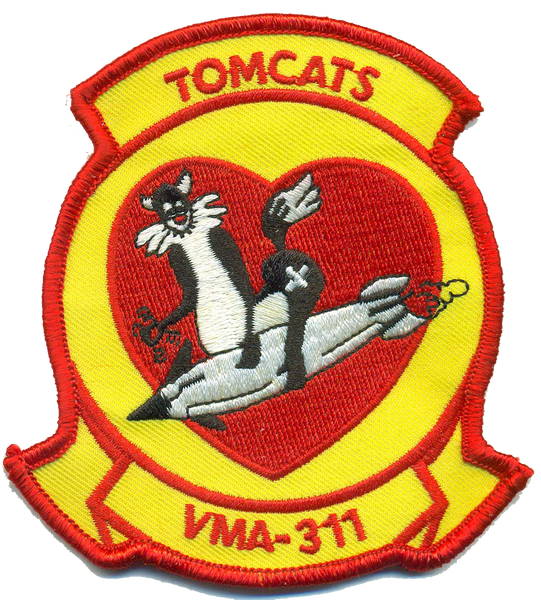 USMC VMA-311 Tomcats 2018- No Hook and Loop
